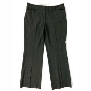 Loft gray Julie straight leg trouser pants